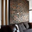 アンティーク煉瓦の壁