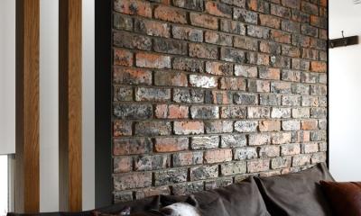 清潔ヴィンテージ (アンティーク煉瓦の壁)