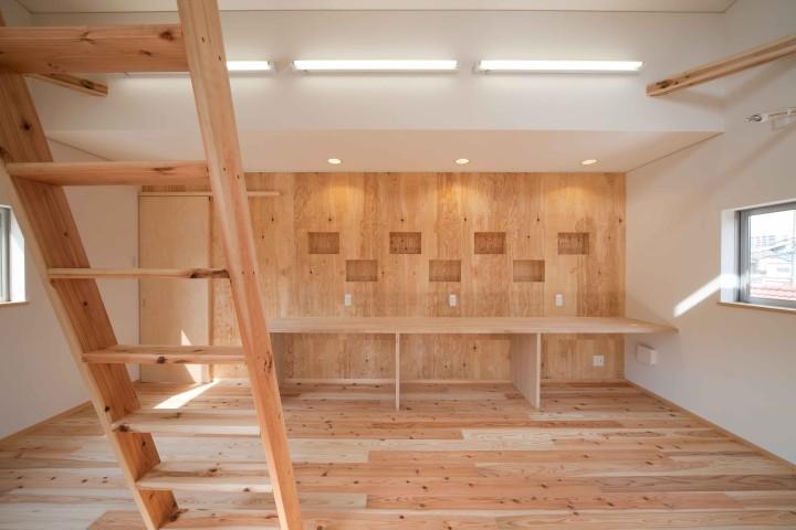 建築家:木田吉宣「路地のある家」