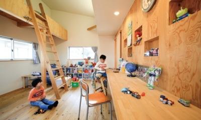 路地のある家 (子供部屋2)