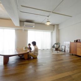 使用する素材や設備も、自分たちらしく。好きなモノで造ったちょうどいい空間にリノベーション