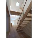 見渡しの家の写真 階段