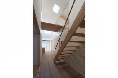 階段 (見渡しの家)