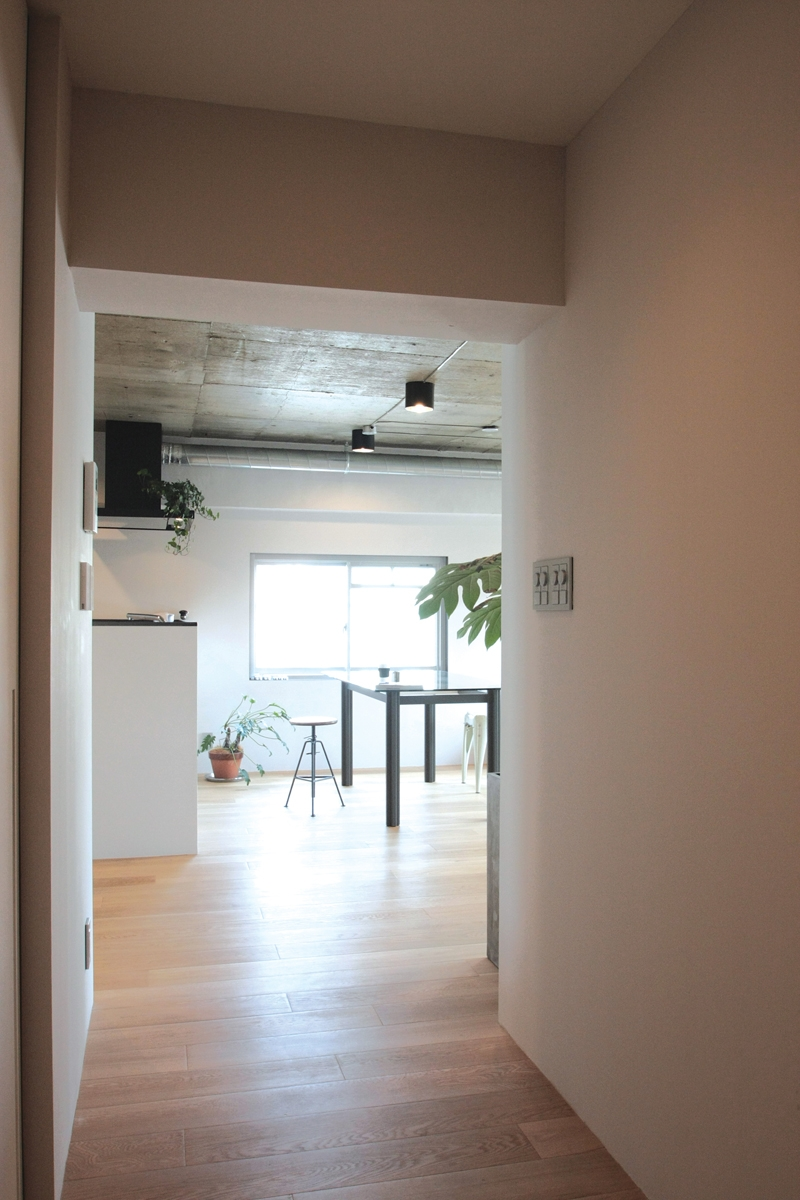 Y-Houseの部屋 廊下