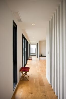 N-Holiday House (廊下)
