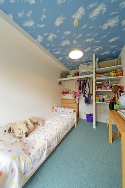 子供部屋 (6帖のコンパクトなリビング。これが私サイズでとっても心地良い)