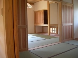 上尾の家 (和室)