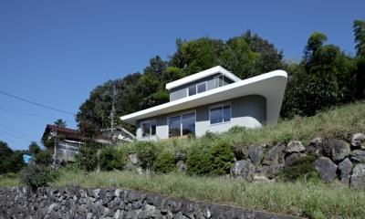 外観1(撮影:鳥村鋼一)|陽傘の家