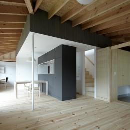 陽傘の家 (LDK-1(撮影:鳥村鋼一))
