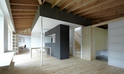 LDK-1(撮影:鳥村鋼一)|陽傘の家