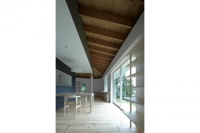 陽傘の家 (LDK-2(撮影:鳥村鋼一))