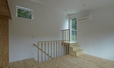 陽傘の家 (ベッドルーム2(撮影:鳥村鋼一))