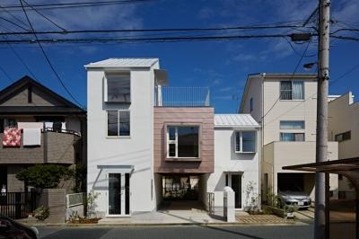 sandwich apartment (外観2(撮影:鳥村鋼一))