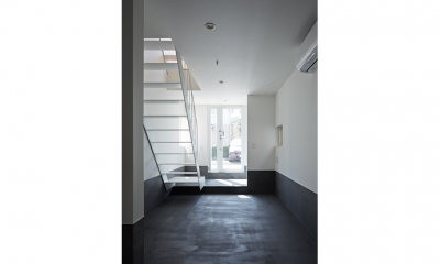 Room1-玄関(撮影:鳥村鋼一)|sandwich apartment