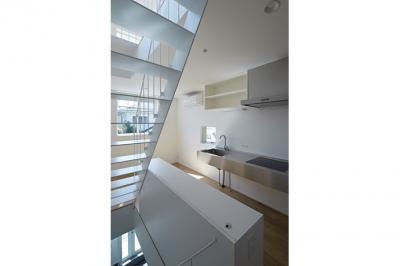 sandwich apartment (Room1-キッチン(撮影:鳥村鋼一))