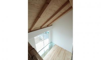 石神井台の家 (ベッドルーム(撮影:鳥村鋼一))