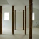 wooden forest apartement