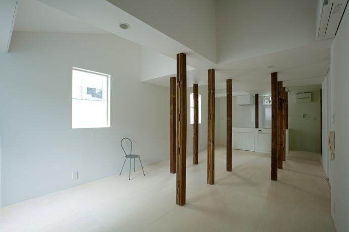 池田雪絵+大野俊治「wooden forest apartement」