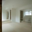 wooden forest apartementの写真 柱を風景として捉える6(撮影:鳥村鋼一)
