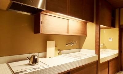 「藏や」清水五条(町家旅館) (キッチン)