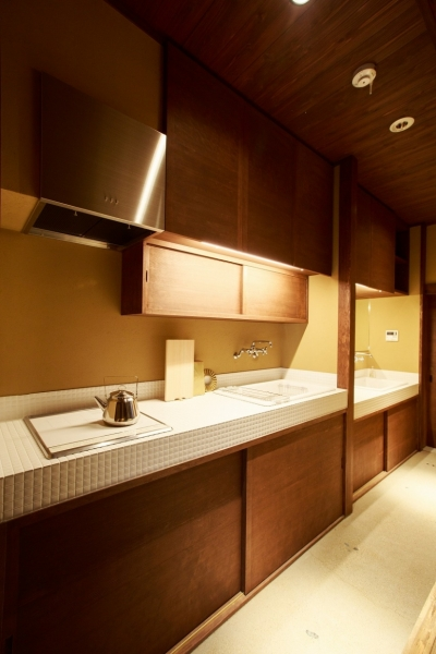 キッチン (「藏や」清水五条(町家旅館))