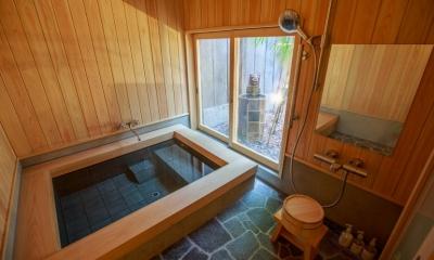 「藏や」清水五条(町家旅館) (浴室)