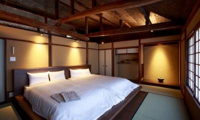 「藏や」清水五条(町家旅館) (寝室)