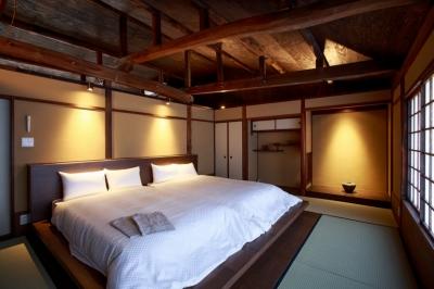 寝室 (「藏や」清水五条(町家旅館))