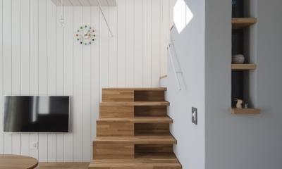 風景を通す家 (階段)