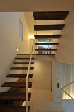下井草の家-2 (階段)