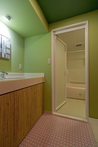 アパルトマンみたいなセカンドハウス リノベーションの写真 洗面所