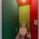 アパルトマンみたいなセカンドハウス リノベーションの写真 トイレ