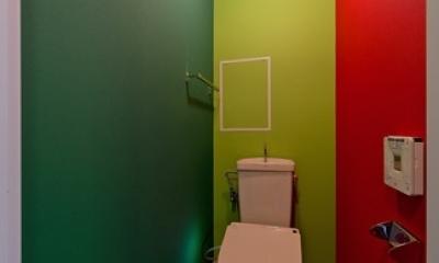 アパルトマンみたいなセカンドハウス リノベーション (トイレ)