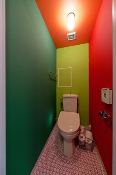 トイレ (アパルトマンみたいなセカンドハウス リノベーション)
