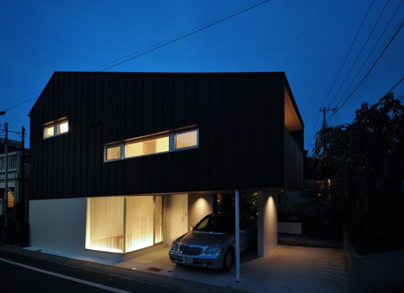 下井草の家-2の部屋 外観夜景