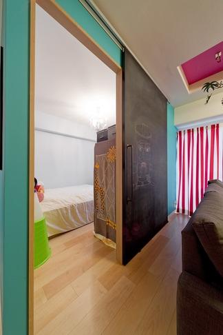 ハンモックのある暮らしの写真 ベッドルーム