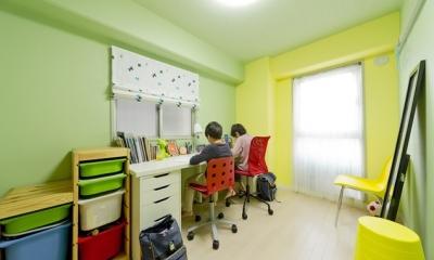 子供部屋|ハンモックのある暮らし