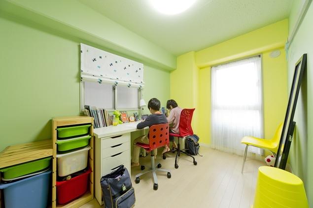 ハンモックのある暮らしの写真 子供部屋