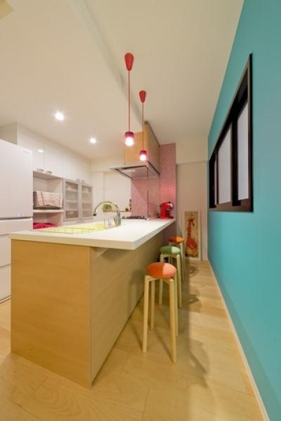 キッチン2 (ハンモックのある暮らし)