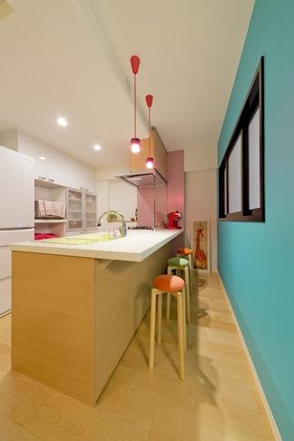 ハンモックのある暮らしの写真 キッチン2