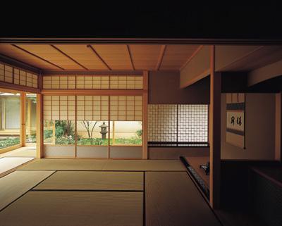 藪椿の家の部屋 和室1
