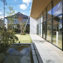 前橋の家 (庭)