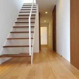 中目・黒の家 (階段)