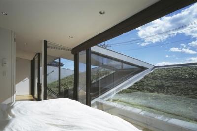 ベッドルーム (前橋の家)