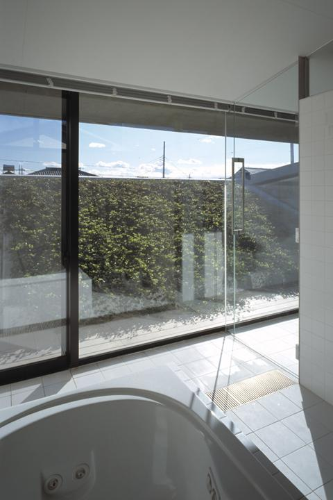 前橋の家の部屋 浴室