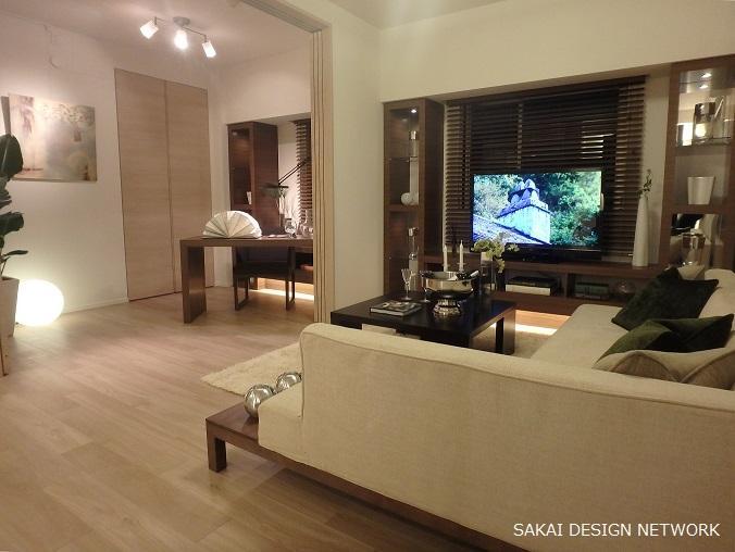 リビングダイニング事例:Luxury_Living(ライオンズ北浦和ステーションレジデンス)