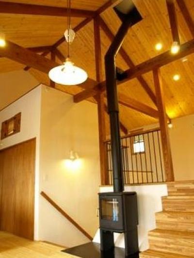 暖炉スペース (中戸祭の家)