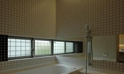 田園調布の家 (浴室)