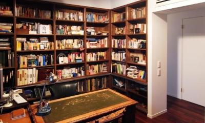 読書好きの書斎1|出窓の家