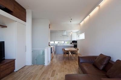 藤沢の家/Na邸 (2階リビング・ダイニング・キッチン)